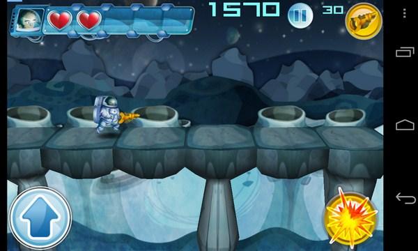 Alien March - игра на смартфоны Android