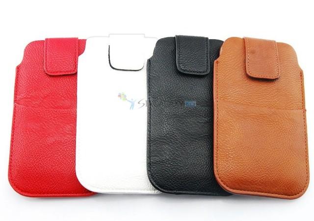 Кожаные сумки для Galaxy S4 I9500 и I9505