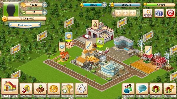 Big Business Deluxe - аналог Sim City для Galaxy S4