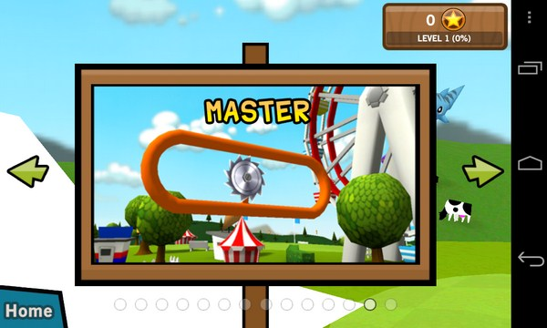 Frisbee® Forever - казуальная игра на Sasmung Galaxy S4