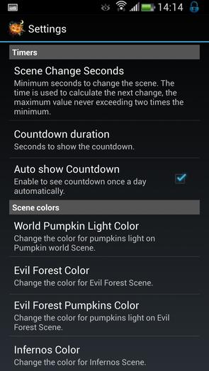 Хэллоуин - живые обои к празднику на Galaxy S4