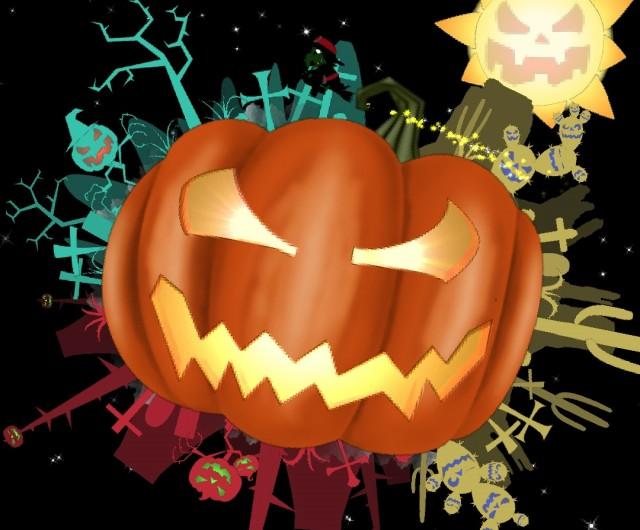 Halloween Live Wallpaper Bwch - интерактивные обои