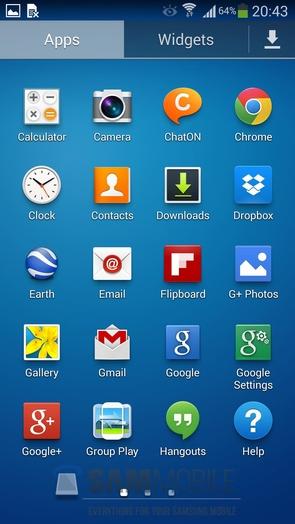 Официальная прошивка I9505XXUEMI8 Android 4.3 для Galaxy S4 GT-I9505