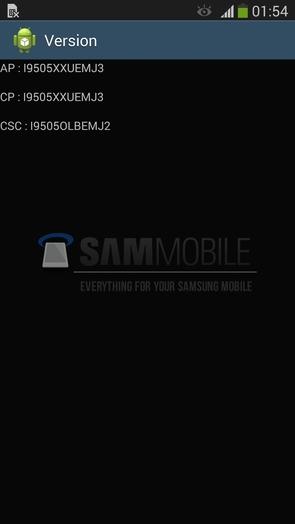 I9505XXUEMJ3 – Android 4.3 для Galaxy S4