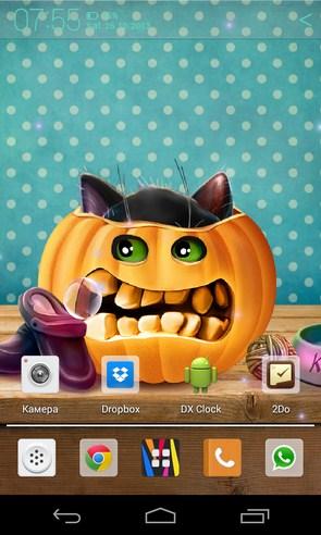 Kotenok na Hjellouin -анимированные обои на Galaxy S4