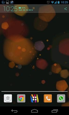 Light Drops Pro Live Wallpaper - живые обои на Галакси С4