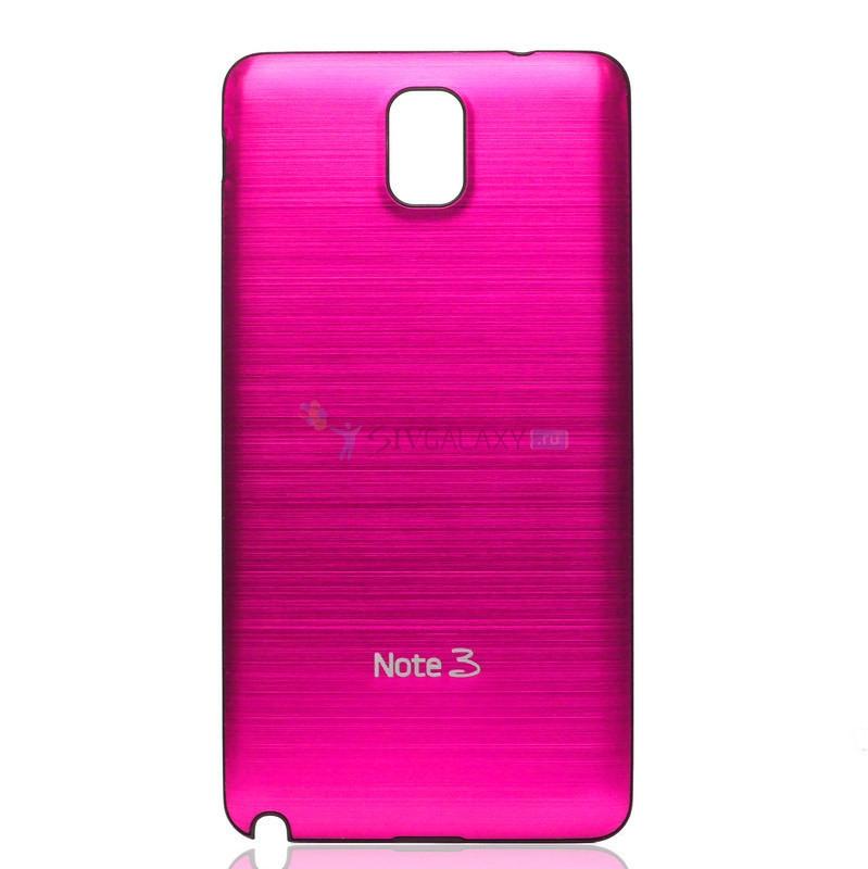 Розовые панели из металла для Galaxy Note III