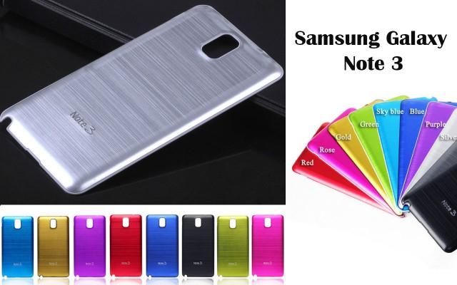 Панели из алюминия на Samsung Galaxy Note 3