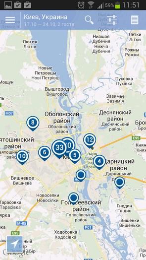 Ostrovok.ru – быстрое бронирование отелей для Samsung Galaxy S4