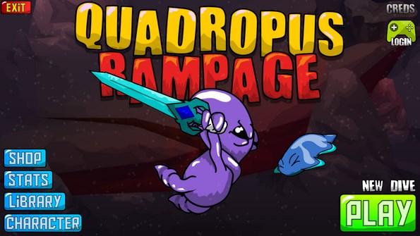 Quadropus Rampage – параллельные миры для Galaxy S4