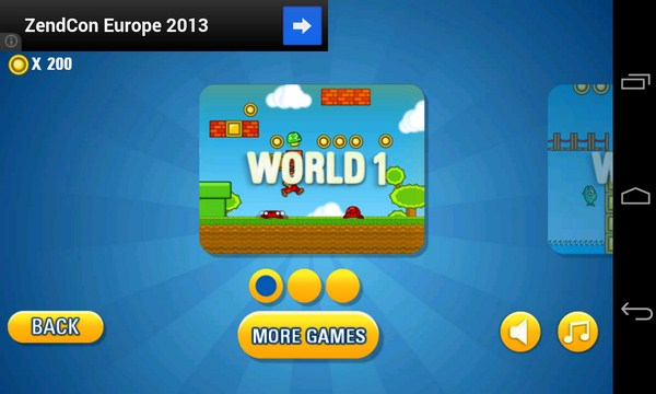 Ralph's World - платформер на Android