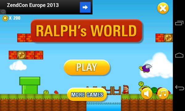 Ralph's World - платформе на Samsung Galaxy S4