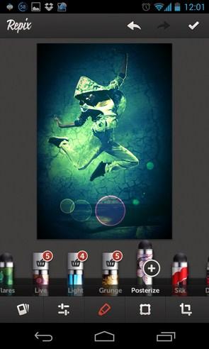 Repix - фоторедактор на смартфоны Galaxy S4