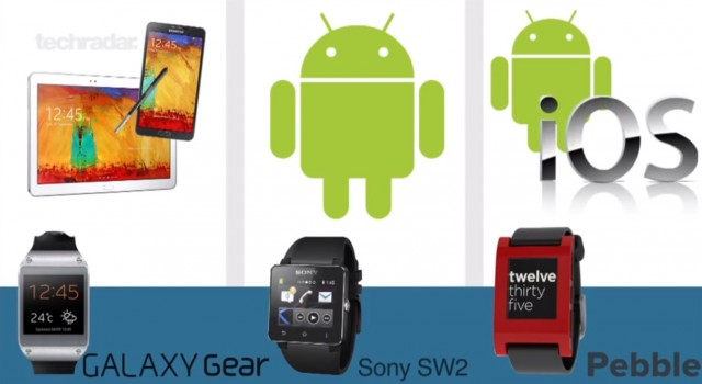 Samsung Galaxy Gear vs Sony Smartwatch 2 vs Pebble