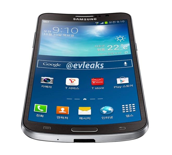 Samsung Galaxy Round представлен официально