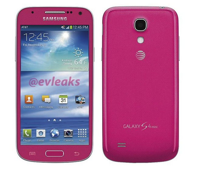 Розовый Samsung Galaxy S4 Mini