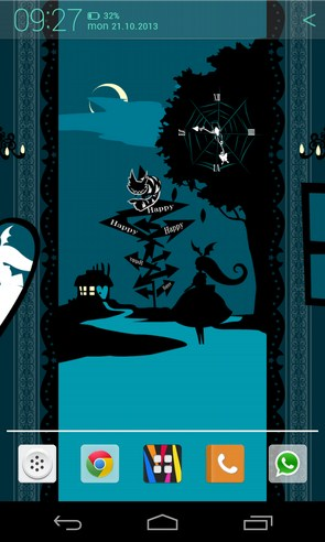 ShadowAlice [Cheshire Cat] - живые обои на смартфоны андроид