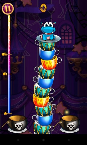 Sky Cups - головоломка на Android