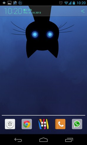 Stalker Cat Live Wallpaper - интерактивные обои на Android