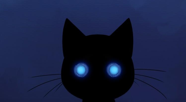 Stalker Cat Live Wallpaper — черный кот на Галакси