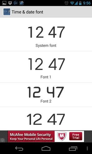 Transparent clock & weather - приложение погоды на смартфоны Android