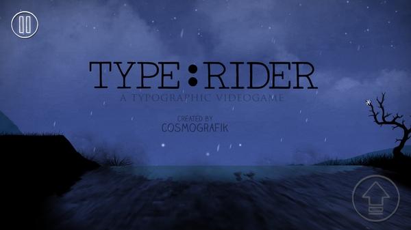 Type:Rider - затяшивающий платформер для Galaxy S4