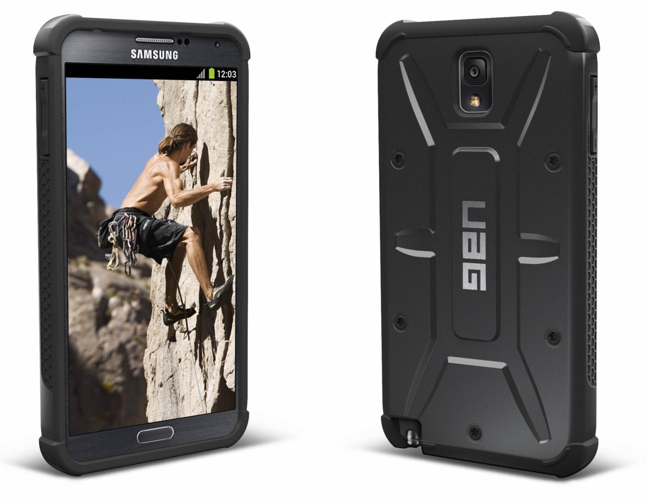 Черный чехол Urban Armor Gear для Galaxy Note 3