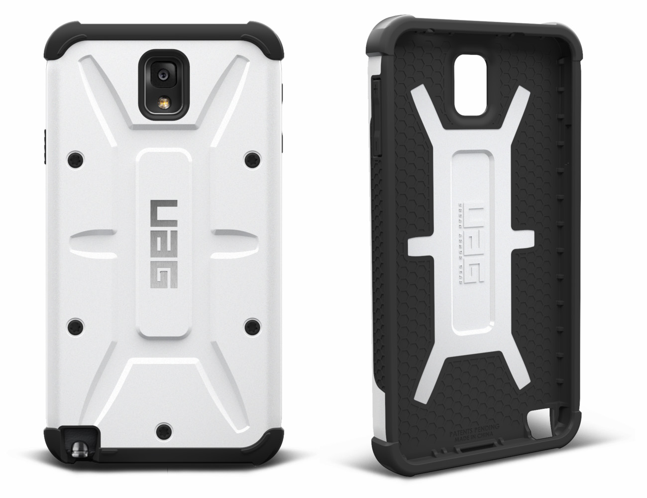 Белый чехол Urban Armor Gear для Galaxy Note 3