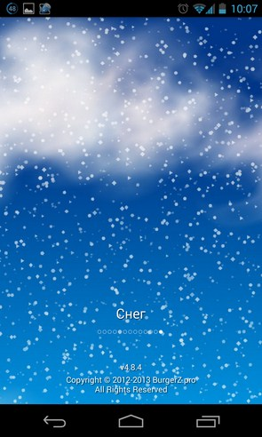 Weather BZ - приложение погоды на Галакси С4