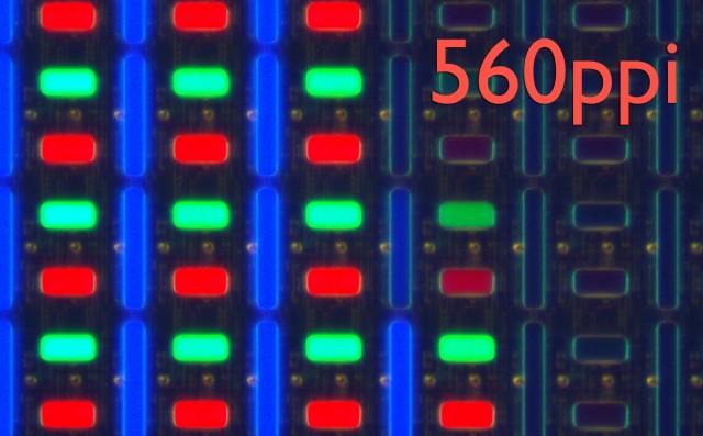 Компания Samsung готова к массовому выпуску 560ppi AMOLED дисплеев