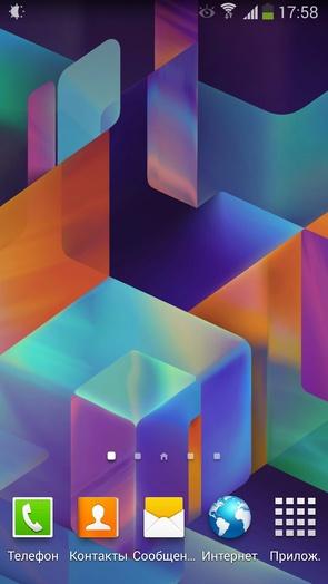 Обои от Android 4.4 Kit Kat на Галакси С4 и Ноут 3