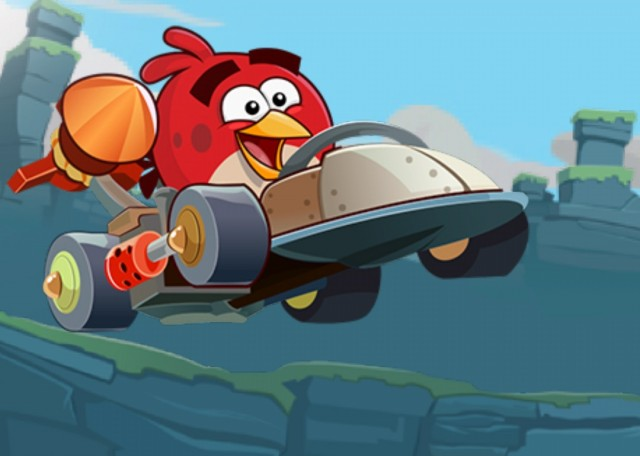 Angry Birds Go v1.0 - живые обои с параллакс