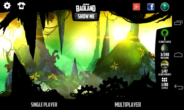 BADLAND - игра на Galaxy S4