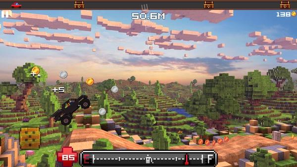Blocky Roads - 3D гонки в мире Майнкрафт на Galaxy S4