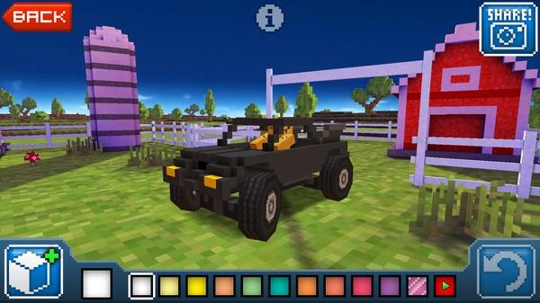 Blocky Roads - 3D гонки в мире Майнкрафт для Galaxy Tab 2 Tab 3