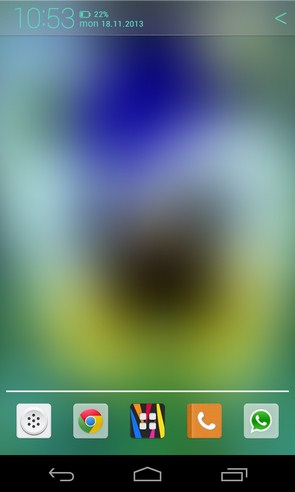 Blur - интерактивные обои на Galaxy S4