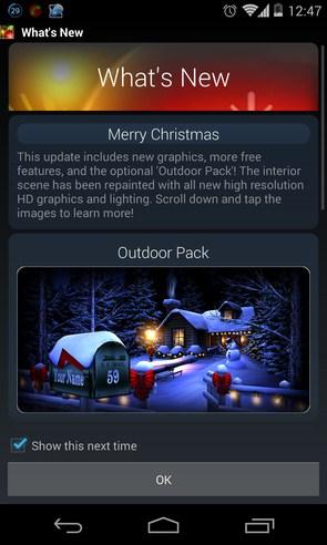 Christmas HD - живые обои на Samsung Galaxy S4