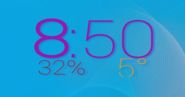 ClockQ - виджет цифровых часов на Samsung Galaxy S4