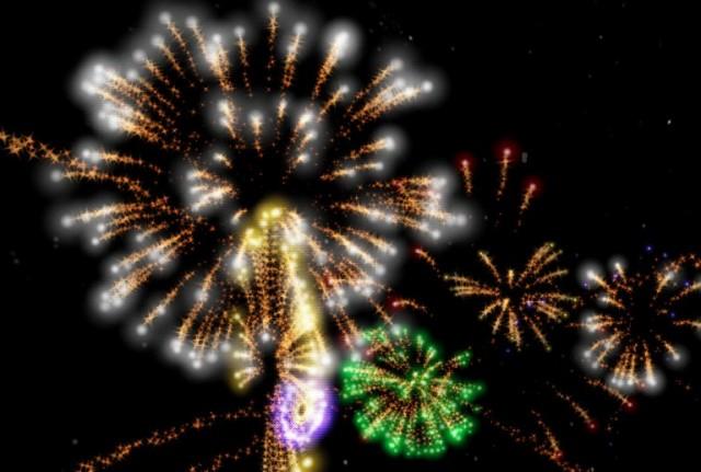 Fireworks 4D - интерактивные обои на Андроид