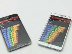 Сравнение Galaxy Note 3 Snapdragon 800 Quad vs Exynos Octa