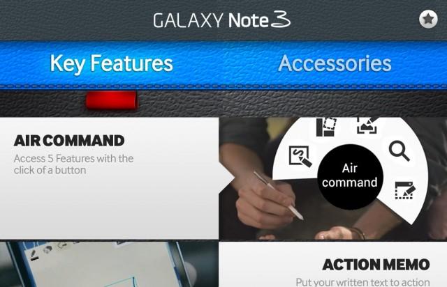GALAXY Note 3 Experience - интерактивная инструкция