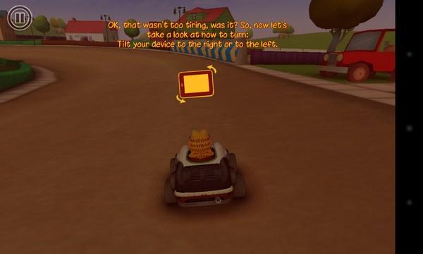 Garfield Kart - гонки с Гарфилдом на Samsung Galaxy S4