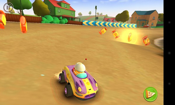 Garfield Kart - гонки на смартфоны Android