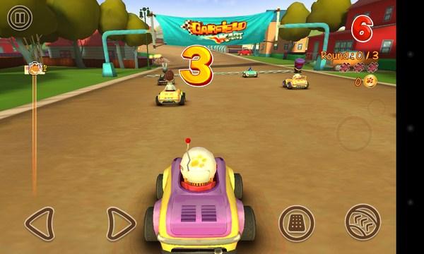 Garfield Kart - игра на Самсунг Галакси С4
