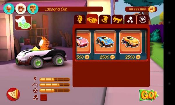 Garfield Kart - гонки на Samsung Galaxy S4