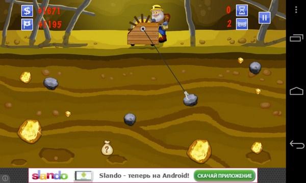 Gold Miner - игра на Самсунг Галакси С4