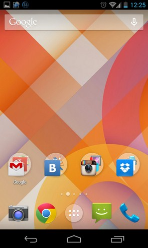 Google Experience Android 4.4 Launcher - приложение на Galaxy S4