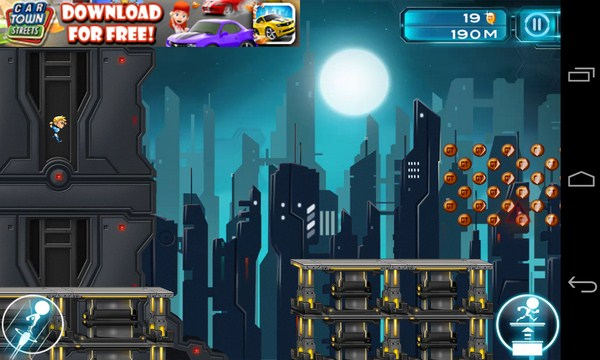 Gravity Guy 2 - игра на смартфоны Галакси С4
