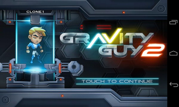 Gravity Guy 2 - аркада на смартфоны Samsung Galaxy S4