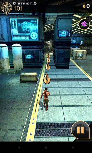 Hunger Games:Panem Run - игра на Samsung Galaxy S4